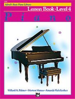 Alfred's Basic Piano Library: Lesson Book 4 (2110)