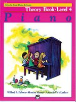 Alfred's Basic Piano Library: Theory Book 4 (2124)