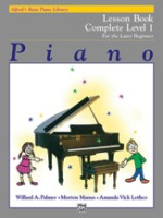 Alfred's Basic Piano Library: Lesson Book Complete 1 (1A/1B) (2229)