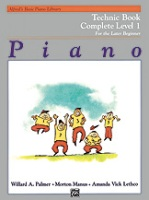 Alfred's Basic Piano Library: Technic Book Complete 1 (1A/1B) (2459)