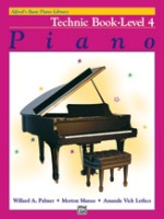 Alfred's Basic Piano Library: Technic Book 4 (2519)