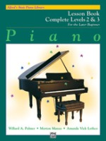 Alfred's Basic Piano Library: Lesson Book Complete 2 & 3 (6214)