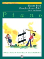 Alfred's Basic Piano Library: Theory Book Complete 2 & 3 (6235)