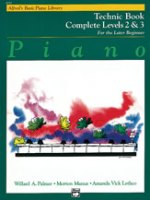 Alfred's Basic Piano Library: Technic Book Complete 2 & 3 (6241)