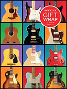 Premium Gift Wrap, Guitar Retro Theme (HL00152187)