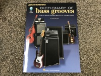Dictionary of Bass Grooves with Audio Access Included (HL00695266)