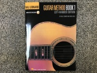 Guitar Method Book 1 Left-Handed Edition with Audio Access (HL00697399)