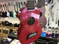 Makala Dolphin Ukulele in Candy Apple Red (MK-SD/CAR)