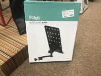 Stagg Music Stand Plate MUS-ARM 1 (MUS-ARM 1)