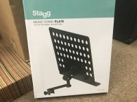 Stagg Music Stand Plate MUS-ARM 2 (MUS-ARM 2)