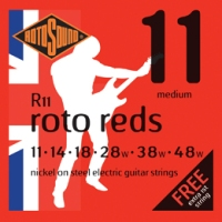 Rotosound ROTOS R11 Roto Reds Electric Guitar Strings (R11)