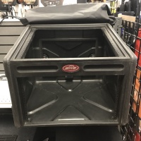 USED SKB MIXER RACK W/COVER (USED SKB MIXER RACK)